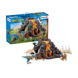 슈라이히 공룡 대화산과 티라노사우루스 공룡 42305