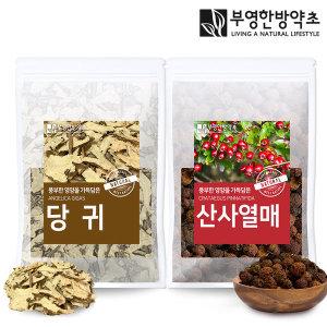 부영한방약초 국산 당귀 산사 차 600g 재료