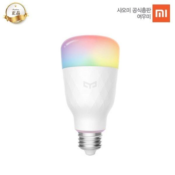 국내정발 샤오미 스마트 LED 전구 3세대 Yeelight 이라이트 (컬러)