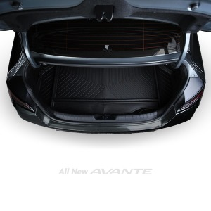 올뉴아반떼 CN7 튜닝 3D 트렁크매트 가솔린