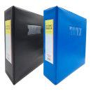 오피스존 고주파 3공 D링 바인더 7cm A4 포켓 인덱스