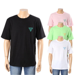 남성 루즈핏 등판   반팔 티셔츠 MK2K8493