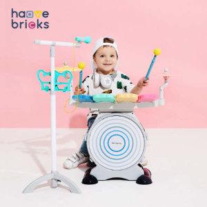 (현대Hmall) 하베브릭스  블루투스 피아노드럼(아기장난감)
