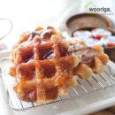 벨기에 리에주 슈가와플 55gX20개 냉동완제품 냉동빵