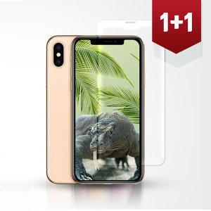 1+1 아이폰SE2 (2020) 전면 9H 강화유리 필름