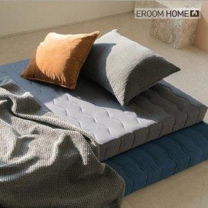 (이룸홈) 이룸홈 마약매트리스 3단 접이식 바닥 토퍼 수면매트 침대 매트리스 (바닥형)두께11cm 멀티싱글