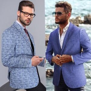 캐주얼정장자켓 봄여름콤비 남자 양복 바바리코트