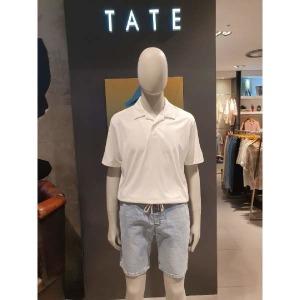 (현대백화점) TATE  (KAAU4-MKS150) 오픈카라 반팔티셔츠