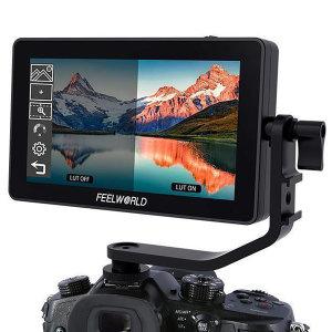 Feelworld F6 플러스 4K 카메라 프리뷰 모니터 5.5인치