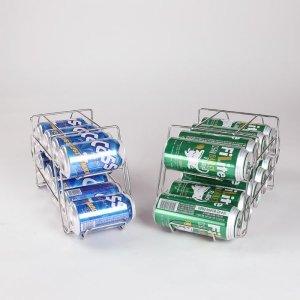 이노카 맥주캔 와이어랙 디스펜서 10캔보관 35