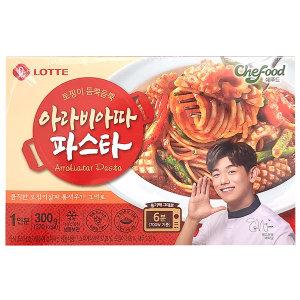 롯데 쉐푸드 아라비아따 파스타 300g x10 냉동식품