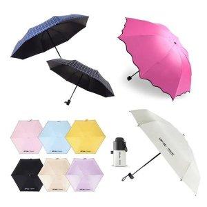자외선차단양산 초경량 5단 우산 미니 양우산