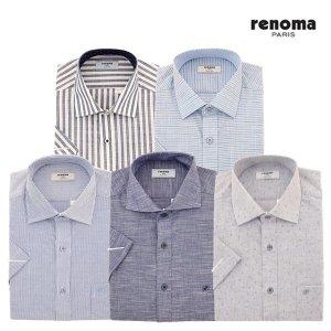 (백화점SAY)(레노마셔츠) 남성 반소매 셔츠 5종