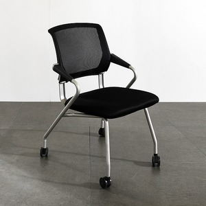 바퀴달린 이동식 사무실 공부방 학생 통풍 쿠션 의자