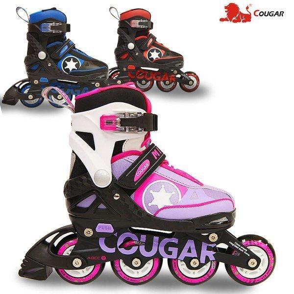 2020 타타스포츠 USA 쿠거 아동용 인라인스케이트 사이즈 조절형