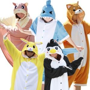 동물잠옷/반팔 긴팔/커플잠옷/날다람쥐/수면잠옷