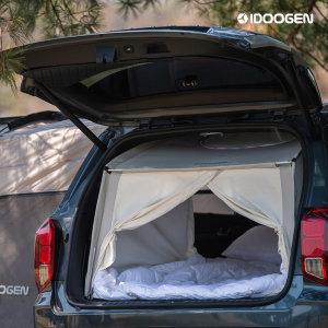 아이두젠 차박캠프 SUV 차량 트렁크 카텐트