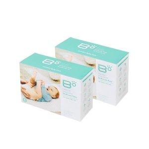 (비오) 비오 일회용 신생아 방수패드 기저귀 교환매트 2BOX