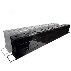 (현대Hmall)TF Wet-dry 상면여과기 길이조절형 블랙 115-145cm 21P