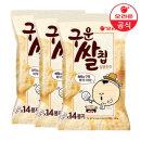 구운쌀칩 달콤한맛 151gx3개