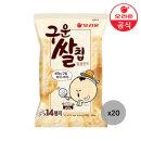 구운쌀칩 달콤한맛 151gx20개(박스)