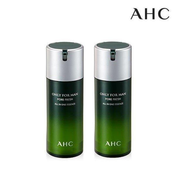 AHC 온리포맨 포어 프레쉬 올인원 에센스 120ml 2개