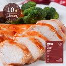 모든닭 중독되는 촉촉 스위트칠리 닭가슴살 130g 10팩
