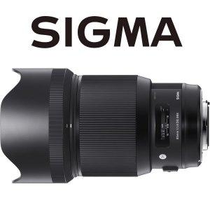 시그마 A 85mm F1.4 DG HSM (니콘 마운트)