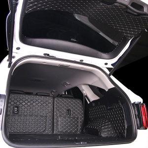 쏘렌토 MQ4 트렁크매트 카본 가죽 풀커버 카매트 메트