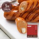 모든닭 감칠맛 닭가슴살 소시지 치즈불닭 120g 5팩