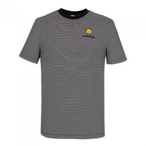 남성 스트레치 스트라이프 반팔 티셔츠 BG0MTS229