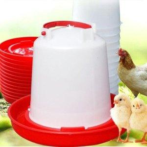 오성스타 닭 물통 6 리터-반자동/닭물공급기