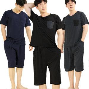 쿨 불가리아 남성 상하세트(L XL)여름잠옷 파자마세트