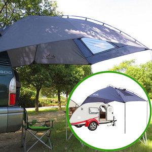 차량 차박 타프 텐트 캠핑 대형 어닝 도킹 카쉘터