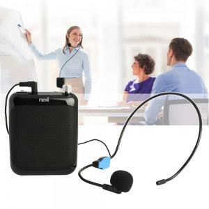 휴대용 수업 강의 강사용 앰프 기가폰 마이크 확성