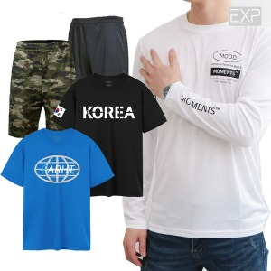 이그잼플)빅사이즈 L~4XL 남성 반팔티 쿨 티셔츠 긴팔