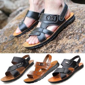 남성 샌들 쪼리 슬리퍼 샌달 망사 신발