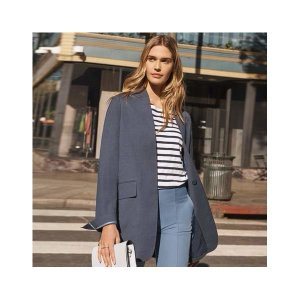 (현대백화점) 스타일온에어 여성 셀렙샵 에디션 프렌치 린넨 재킷(80054802)