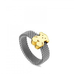 최초출시가 249 000원 Steel and Gold Sweet Dolls Ring/반지/915900741