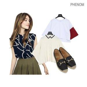 페놈  모다아울렛 여름 미리준비  인기 티셔츠/로브/에스파드류외