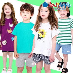 티셔츠/유아복/아동복/롱티/반팔/나시/민소매/라운드