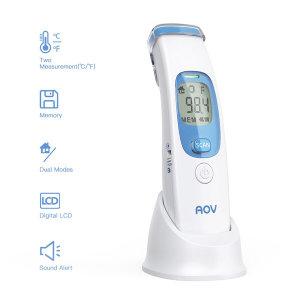 AOV정품 적외선체온계 비접촉식 레이저체온계 휴대용