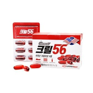 함익병 크릴56 크릴오일 30캡슐 6(6개월) 인지질함유
