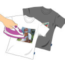 T셔츠전사용지 잉크젯 전사지 밝은색원단용 A4 10매