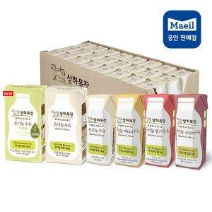 상하목장 유기농 우유 125ml/190ml 24팩