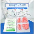 잇몸봉합연습도구 치과봉합훈련 치아봉합 수술모형