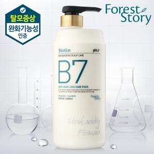 B7 약산성 탈모 헤어팩 1000ml / 탈모증상완화 기능성