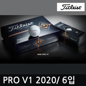 타이틀리스트 골프공 ProV1 6구/3피스/신형/정품/선물
