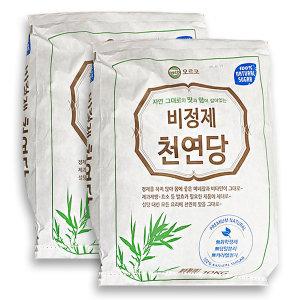 비정제설탕 원당 오르코 천연당 10kg