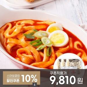 누들 마법 떡볶이 9인분/ 누들떡3봉+분말스프3봉/ 무배